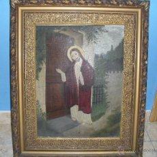 Arte: PAREJA DE PINTURAS RELIGIOSAS. Lote 39913026