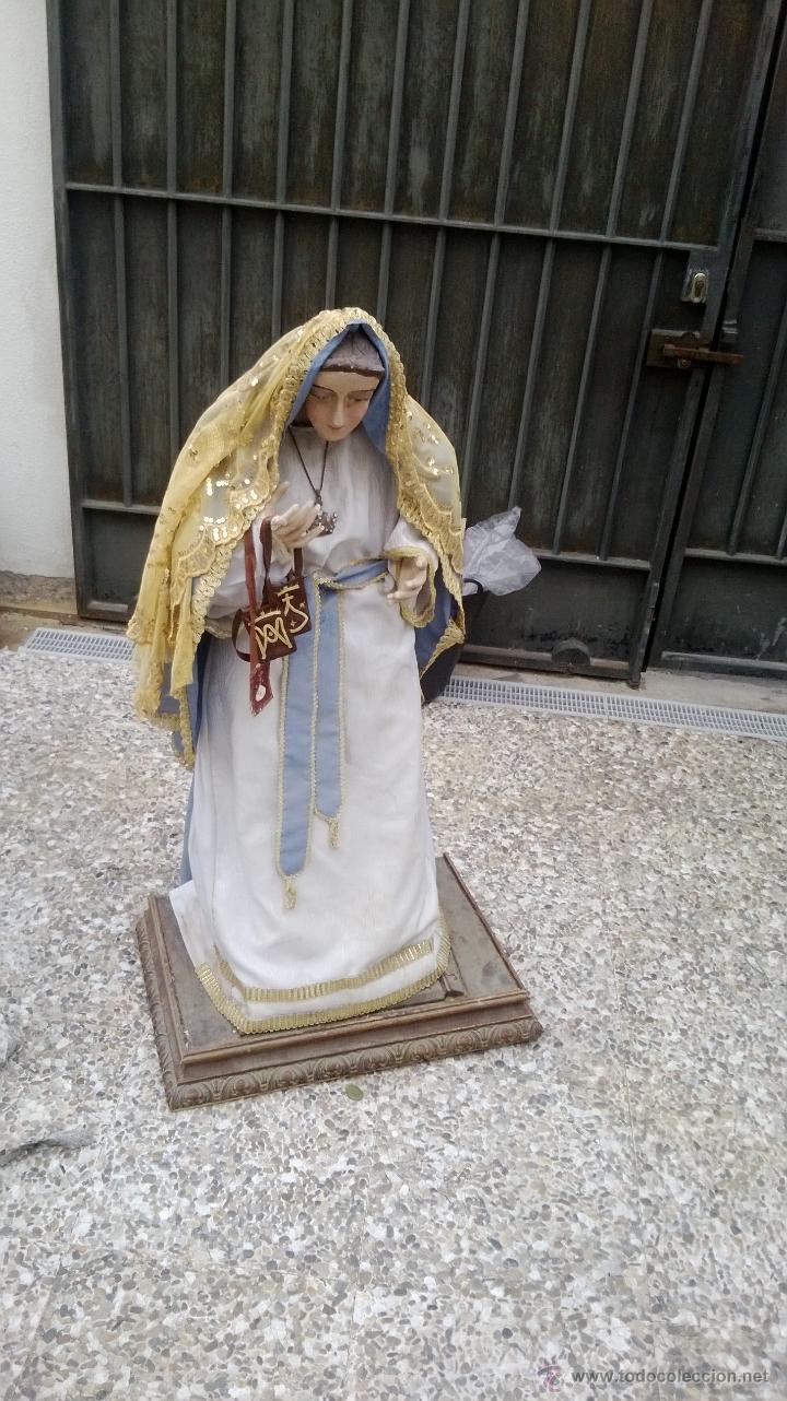 VIRGEN LEER (Arte - Arte Religioso - Escultura)