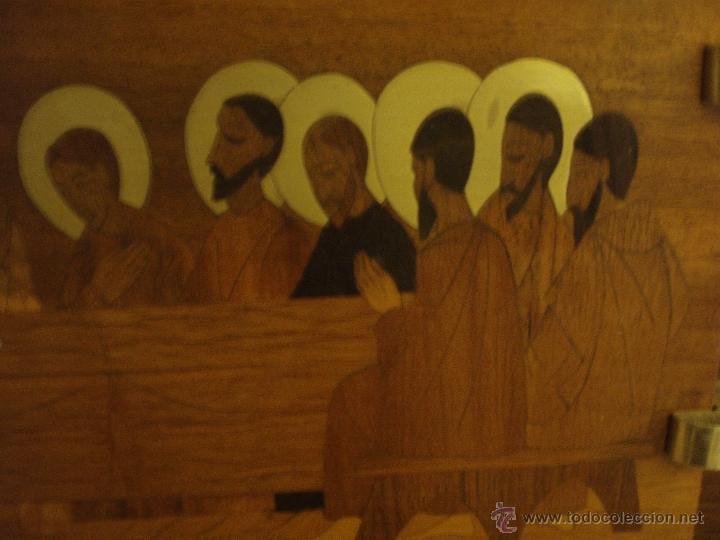 Arte: Magnífica Santa Cena en marquetería - Foto 3 - 40380796