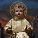 Arte: MAGNIFICO NIÑO JESUS DE VESTIR O CAP Y POTA. S. XIX. Lote 40519986