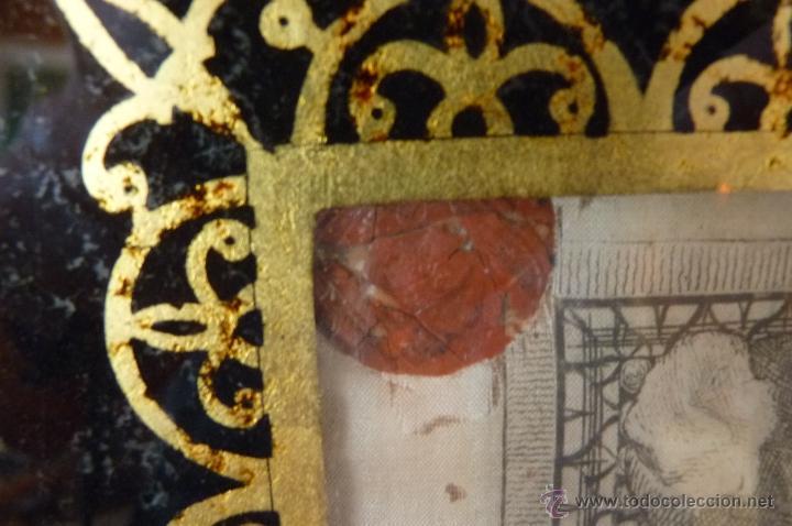 Arte: IMPRESIONANTE GRABADO EN SEDA SIGLO XIX ROSTRO DE CRISTO SERIE LIMITADA BASÍLICA DE ROMA LACRADO - Foto 6 - 40543467