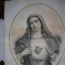 Arte: LITOGRAFÍA GRAN TAMAÑO S. XIX. Lote 40919625