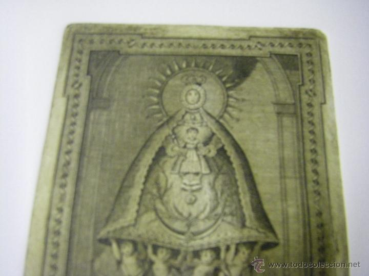 Arte: último Grabado Nuestra Señora del Valle ciudad de Écija (Sevilla), plancha original del siglo XVIII - Foto 4 - 107256812