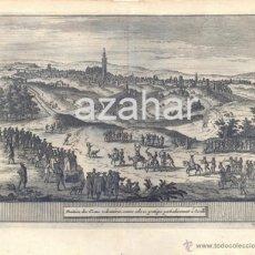 Arte: GRABADO,SEVILLA, SIGLOXVIII, EL CASTIGO DE LA ADULTERA Y EL CORNUDO, MAGNFICO,180X160MM. Lote 41118677