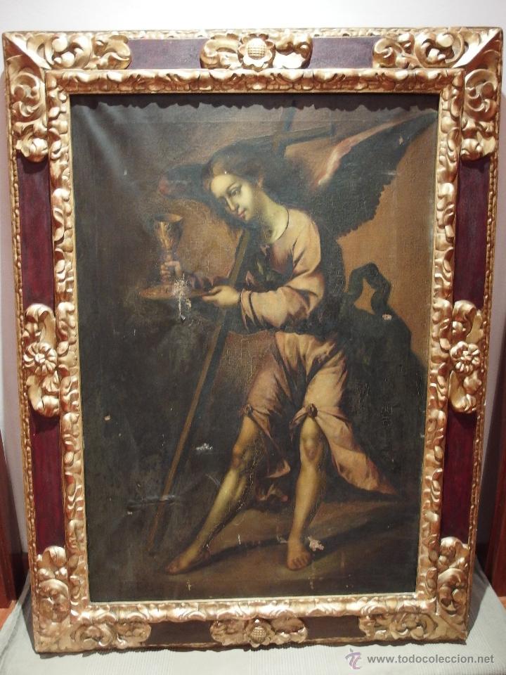 gran óleo religioso, finales siglo xvii, pps. s - Comprar Pintura ...