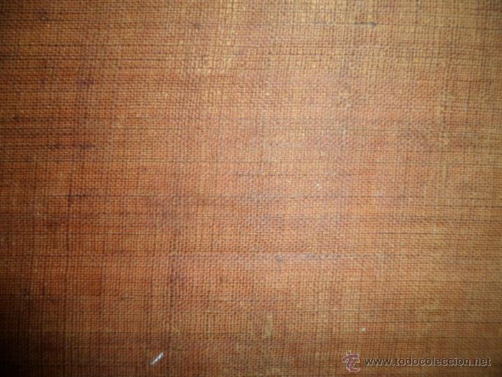 Arte: Antiguo oleo de la Virgen Maria: Siglo 18 [tela muy antigua] - Foto 18 - 41173093