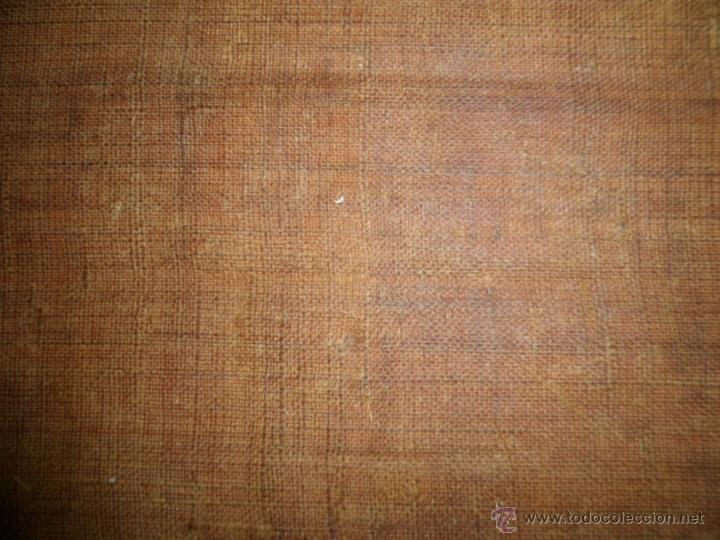Arte: Antiguo oleo de la Virgen Maria: Siglo 18 [tela muy antigua] - Foto 19 - 41173093
