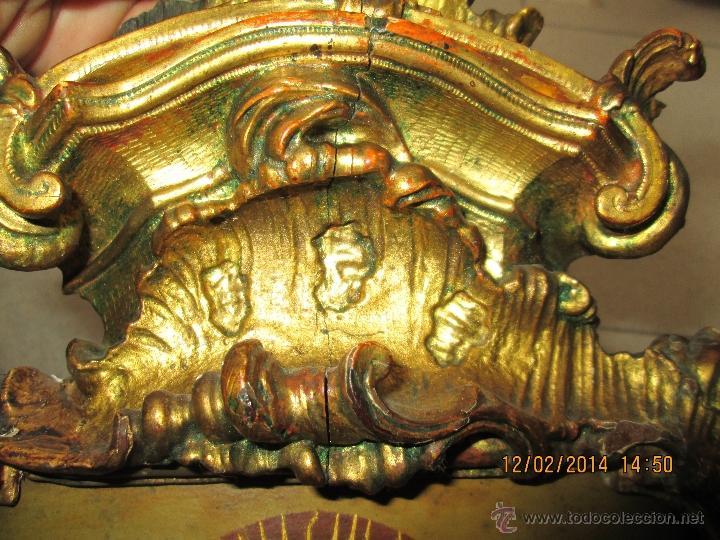 Arte: ANTIGUA SACRA ORIGINAL BARROCA S. XVII-PINTURA SOBRE COBRE icono Salus Populi Romani-Capilla Paulina - Foto 9 - 39683371