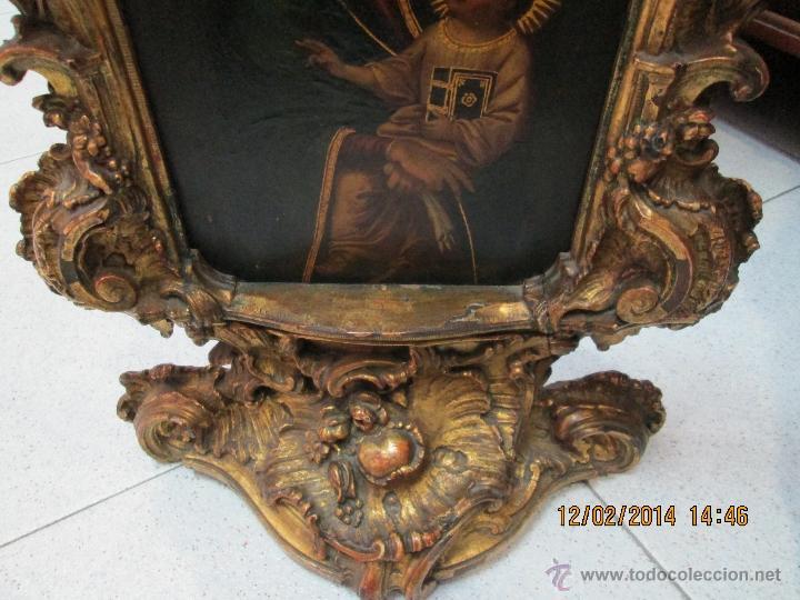 Arte: ANTIGUA SACRA ORIGINAL BARROCA S. XVII-PINTURA SOBRE COBRE icono Salus Populi Romani-Capilla Paulina - Foto 19 - 39683371