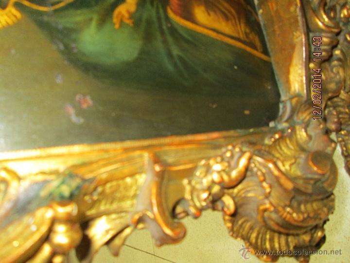 Arte: ANTIGUA SACRA ORIGINAL BARROCA S. XVII-PINTURA SOBRE COBRE icono Salus Populi Romani-Capilla Paulina - Foto 30 - 39683371