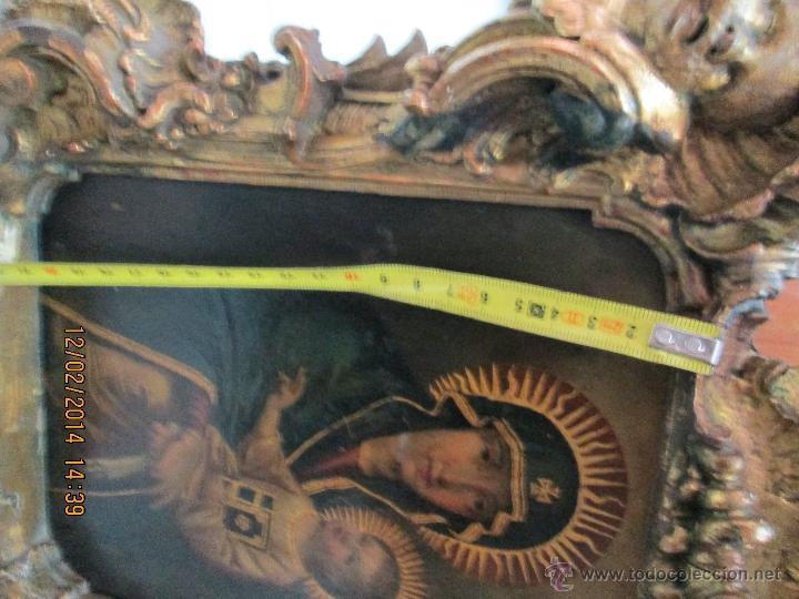 Arte: ANTIGUA SACRA ORIGINAL BARROCA S. XVII-PINTURA SOBRE COBRE icono Salus Populi Romani-Capilla Paulina - Foto 40 - 39683371