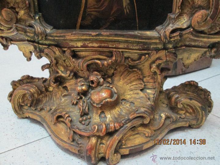 Arte: ANTIGUA SACRA ORIGINAL BARROCA S. XVII-PINTURA SOBRE COBRE icono Salus Populi Romani-Capilla Paulina - Foto 43 - 39683371