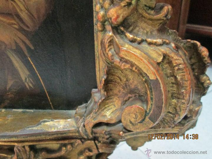 Arte: ANTIGUA SACRA ORIGINAL BARROCA S. XVII-PINTURA SOBRE COBRE icono Salus Populi Romani-Capilla Paulina - Foto 44 - 39683371