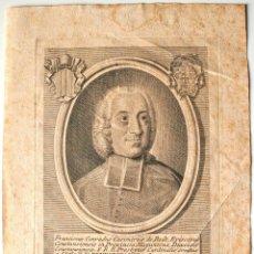 Arte: ROMAE EX CHALCOGRAPHIA. SIGLO XVIII. FRANCISCUS CONRADUS CASIMIRUS DE RODT (BENEDICTO XIV). Lote 41690071