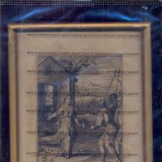 Arte: GRABADO ORIGINAL DEL SIGLO XVIII PROCEDENTE DE UNA BIBLIA. Lote 41725279