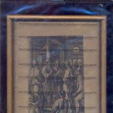 Arte: GRABADO ORIGINAL DEL SIGLO XVIII PROCEDENTE DE UNA BIBLIA. Lote 41725296