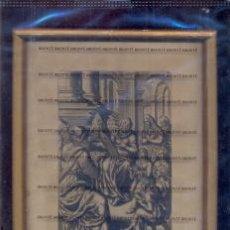 Arte: GRABADO ORIGINAL DEL SIGLO XVIII PROCEDENTE DE UNA BIBLIA. Lote 41725305