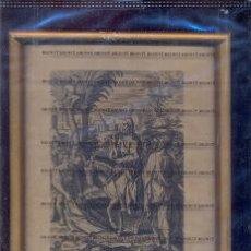 Arte: GRABADO ORIGINAL DEL SIGLO XVIII PROCEDENTE DE UNA BIBLIA. Lote 41725315