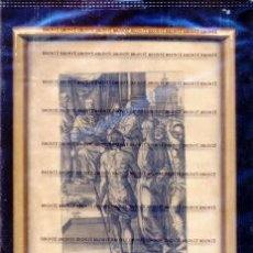 Arte: GRABADO ORIGINAL DEL SIGLO XVIII PROCEDENTE DE UNA BIBLIA. Lote 41725320