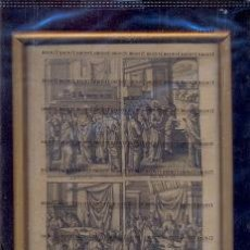 Arte: GRABADO ORIGINAL DEL SIGLO XVIII PROCEDENTE DE UNA BIBLIA. Lote 41725332
