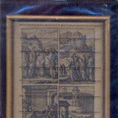 Arte: GRABADO ORIGINAL DEL SIGLO XVIII PROCEDENTE DE UNA BIBLIA. Lote 41725334