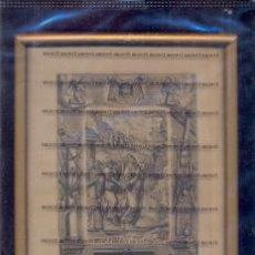 Arte: GRABADO ORIGINAL DEL SIGLO XVIII PROCEDENTE DE UNA BIBLIA. Lote 41725362
