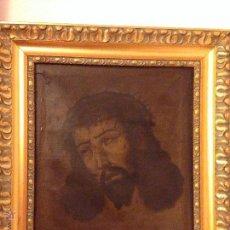 Arte: PRECIOSO OLEO S. XVII SANTA FAZ , ROSTRO DE CRISTO .FIRMADO. Lote 41789679