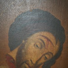 Arte: ANTIGUO OLEO SOBRE LIENZO S.XVIII. Lote 42449800