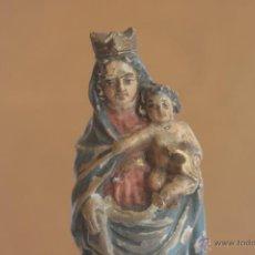 Arte: ANTIGUA VIRGEN DEL PILAR DE TERRACOTA. Lote 42608515