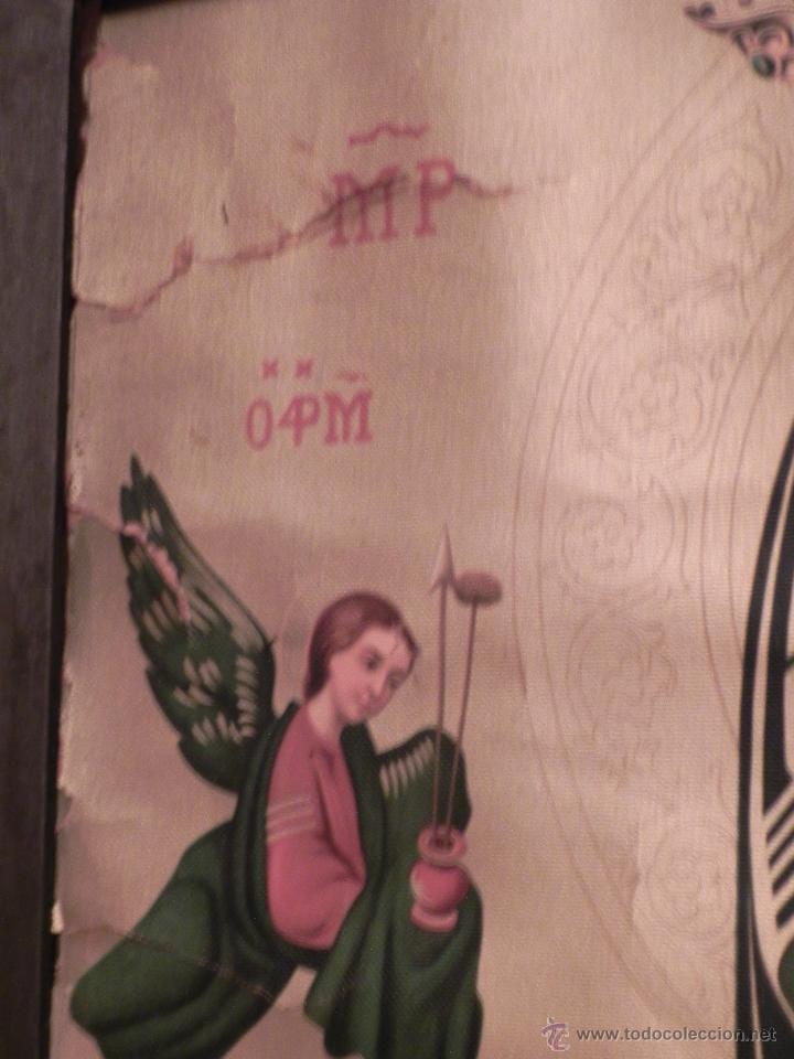 Arte: Vendo Cuadro Antigüo de la Virgen del Perpetuo Socorro (Fecha sin datar). Incluido Marco. - Foto 7 - 42638230