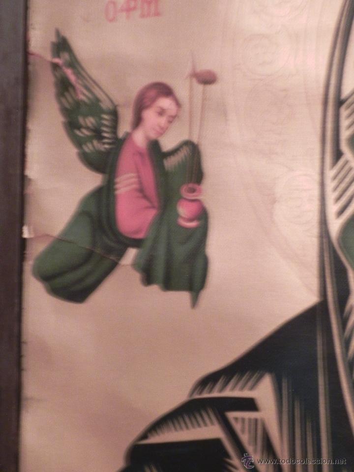 Arte: Vendo Cuadro Antigüo de la Virgen del Perpetuo Socorro (Fecha sin datar). Incluido Marco. - Foto 8 - 42638230