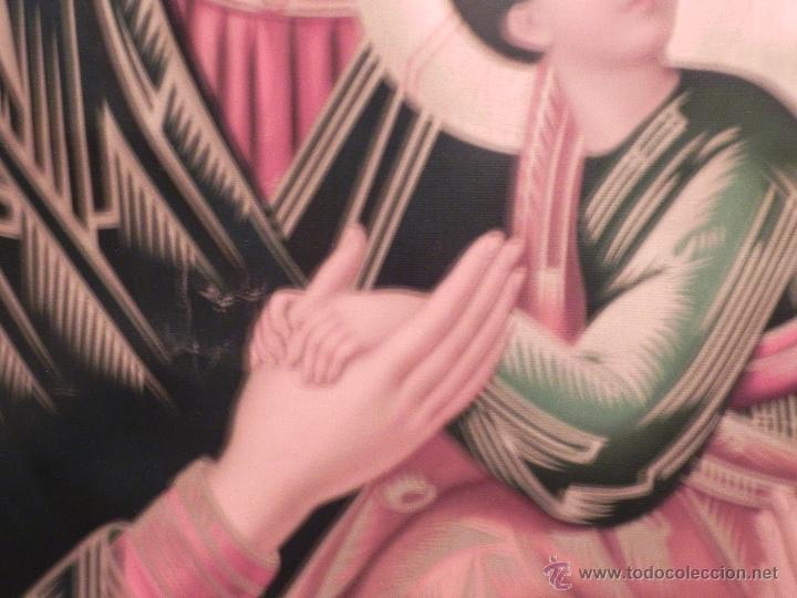 Arte: Vendo Cuadro Antigüo de la Virgen del Perpetuo Socorro (Fecha sin datar). Incluido Marco. - Foto 9 - 42638230