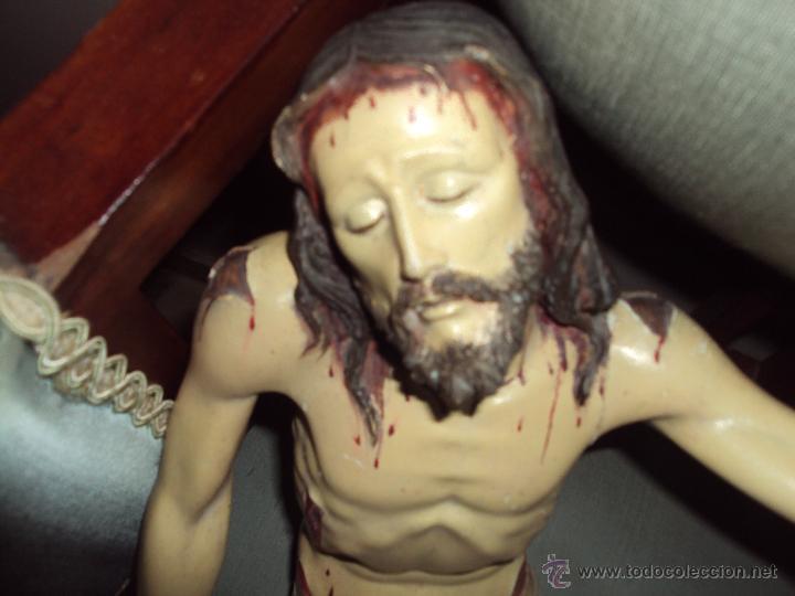 Arte: ANTIGUA TALLA EN MADERA DE JESUS YACENTE - Foto 2 - 42849217