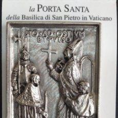Arte: REPRODUCCION DEL ULTIMO CASETON DE LA PUERTA SANTA. Lote 84123146