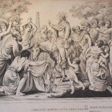 Arte: OBRA CON 8 MAPAS Y 55 MAGNIFICOS GRABADOS DE H. MOSES Y OTROS CON ESCENAS DE LA BIBLIA 1814 1818.. Lote 42919598