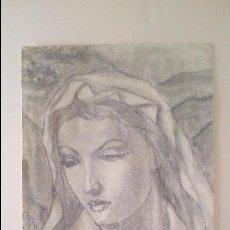 Arte: DIBUJO VIRGEN MARIA. Lote 42959616