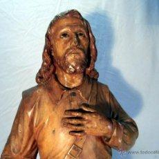 Arte: SAN ISIDRO DE MADERA, SIGLO XVIII-XIX. Lote 43043903