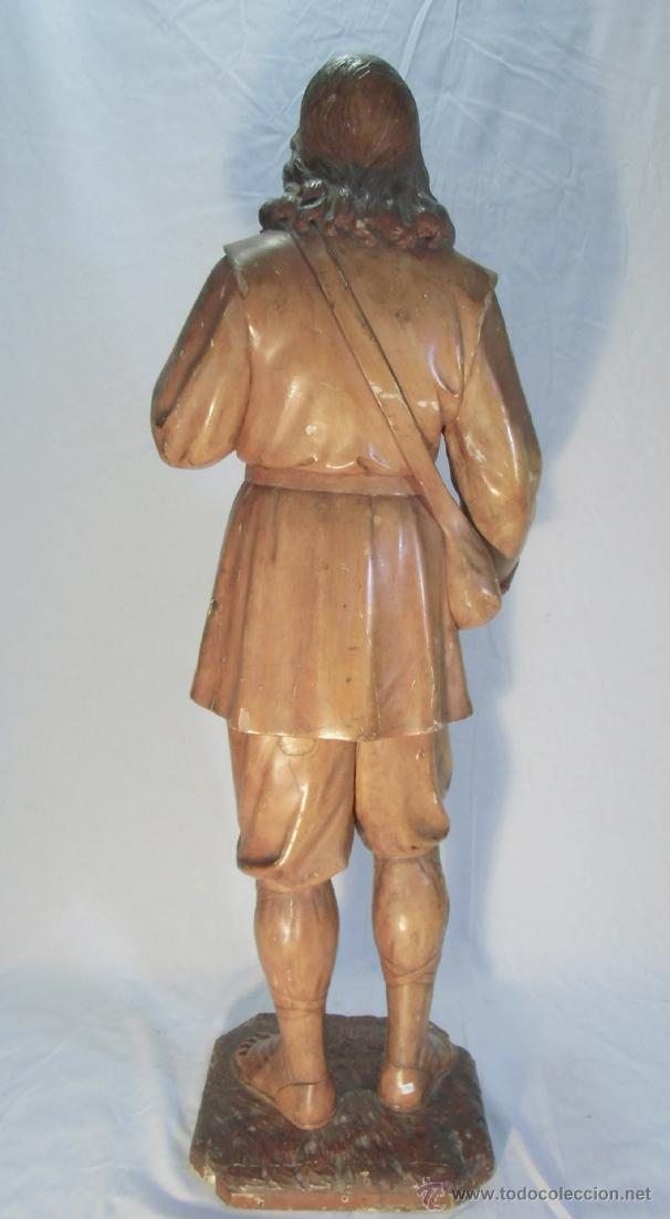 Arte: San isidro de madera, siglo XVIII-XIX - Foto 3 - 43043903