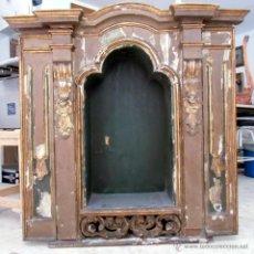 Arte: RETABLO-CAPILLA O COMO HORNACINA. SIGLO XVII-XVIII. Lote 43044092