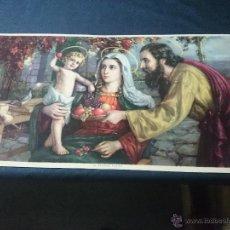 Arte: SAGRADA FAMILIA(AÑOS 50). Lote 43090555