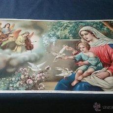 Arte: FANTASÍA DE LA SANTISIMA VIRGEN(AÑOS 50). Lote 140749126