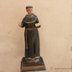 Arte: EXCELENTE SAN ANTONIO DE TALLA SIGLO XVIII. Lote 43186015