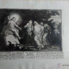 Arte: ANTIGUO GRABADO RELIGIOSO. Lote 43249154