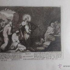 Arte: GRABADO RELIGIOSO ANTIGUO . Lote 43251044