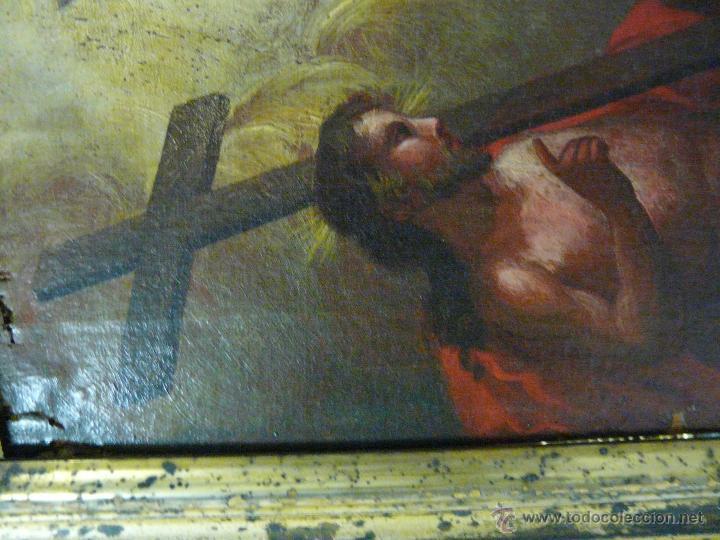 Arte: ÓLEO SOBRE LIENZO TRINIDAD ATRIBUIDO A J. ANTONIO ZAPATA Y NADAL 1762-1837 - 1000-071 - Foto 4 - 43145369