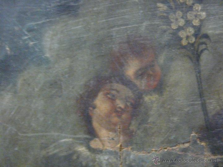 Arte: ÓLEO SOBRE LIENZO SAN JOSÉ CON NIÑO SIGLO XVIII - 1000-066 - Foto 5 - 43145250