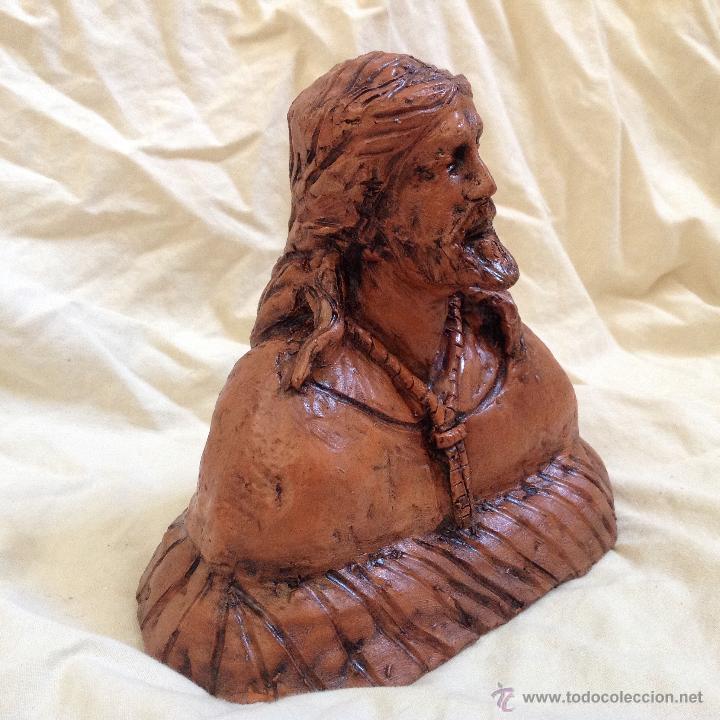 Arte: Busto 15 ctms en terracota. - Foto 3 - 43375697