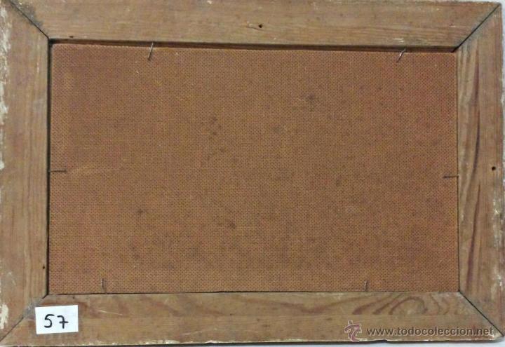 Arte: ÓLEO SOBRE PAPEL BOCETO DE TEMA RELIGIOSO CON ALEGORÍA DE LA VIRGEN - 1000-020 - Foto 5 - 43428503