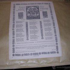 Arte: MATARÓ - 1928 GOIGS EN ALABANÇA DE LES GLORIOSES SANTES JULIANA I SEMPRONIANA IMP. MINERVA MATARO . Lote 43751350