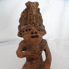 Arte: DIVINIDAD AZTECA ANTIGUA. Lote 44067582
